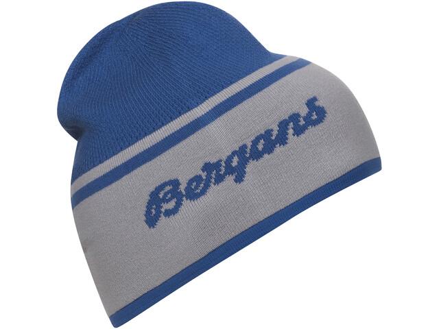 Bergans Seamless Berretto, strong blue/alu